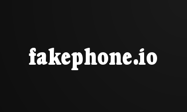fakephone.io